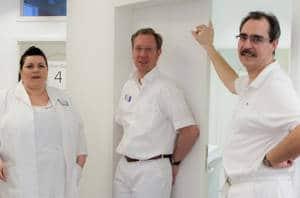 Foto Ärzte im Zentrum für Orthopädie Siemensstadt