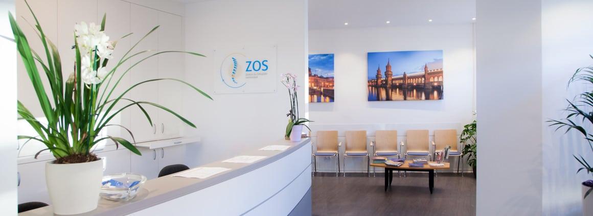 Foto Empfangsbereich ZOS