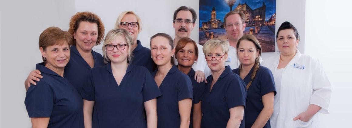 Team des Zentrums für Orthopädie Siemensstadt